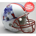 Helmets, Full Size Helmet: New England Patriots 1990 to 1992 Football Helmet