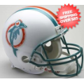 Helmets, Full Size Helmet: Miami Dolphins 1980 to 1996 Football Helmet