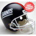 Helmets, Full Size Helmet: New York Giants 1981 to 1999 Football Helmet