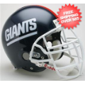 Helmets, Full Size Helmet: New York Giants 1981 to 1999 Football Helmet W/ZLT Mask