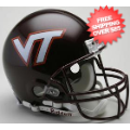 Helmets, Full Size Helmet: Virginia Tech Hokies Football Helmet