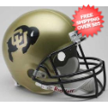 Helmets, Full Size Helmet: Colorado Buffaloes Full Size Replica Football Helmet