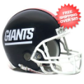 Helmets, Mini Helmets: New York Giants 1981 to 1999 Riddell Mini Replica Throwback Helmet