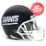 New York Giants 1981 to 1999 Riddell Mini Replica Throwback Helmet