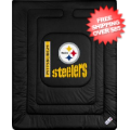 Home Accessories, Bed and Bath: Pittsburgh Steelers Comforter Twin