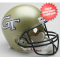 Helmets, Full Size Helmet: Georgia Tech Yellow Jackets Full Size Replica Football Helmet