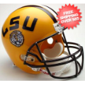 Helmets, Full Size Helmet: LSU Tigers Full Size Replica Football Helmet