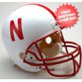 Helmets, Full Size Helmet: Nebraska Cornhuskers Full Size Replica Football Helmet