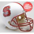 Helmets, Full Size Helmet: North Carolina State Wolfpack Full Size Replica Football Helmet