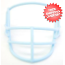 Columbia Blue Special Quarterback Face Mask