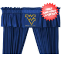 Home Accessories, Bed and Bath: West Virginia Mountaineers Valance