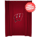 Home Accessories, Bed and Bath: Wisconsin Badgers Shower Curtain