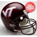 Helmets, Full Size Helmet: Virginia Tech Hokies Full Size Replica Football Helmet