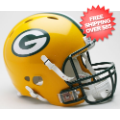 Helmets, Full Size Helmet: Green Bay Packers Authentic Revolution Football Helmet
