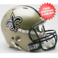 Helmets, Full Size Helmet: New Orleans Saints Authentic Revolution Football Helmet