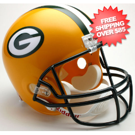 Green Bay Packers Full Size Replica Football Helmet