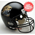 Helmets, Full Size Helmet: Jacksonville Jaguars 1995 to 2012 Full Size Replica Throwback Helmet