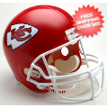 Helmets, Full Size Helmet: Kansas City Chiefs Full Size Replica Football Helmet