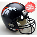 Helmets, Full Size Helmet: Denver Broncos Full Size Replica Football Helmet