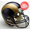 Helmets, Full Size Helmet: St. Louis Rams Full Size Replica Football Helmet