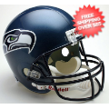 Helmets, Full Size Helmet: Seattle Seahawks 2002 to 2011 Full Size Replica Throwback Helmet