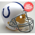 Helmets, Full Size Helmet: Indianapolis Colts Full Size Replica Football Helmet