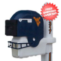 Home Accessories, Outdoor: West Virginia Mountaineers Helmet Mailbox