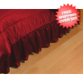 Home Accessories, Bed and Bath: Wisconsin Badgers Bedskirt Full