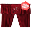 Home Accessories, Bed and Bath: Wisconsin Badgers Valance