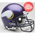 Helmets, Full Size Helmet: Minnesota Vikings 2006 to 2012 Football Helmet