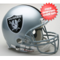Helmets, Full Size Helmet: Oakland Raiders Football Helmet
