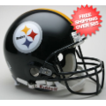 Helmets, Full Size Helmet: Pittsburgh Steelers Football Helmet