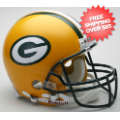 Helmets, Full Size Helmet: Green Bay Packers Football Helmet