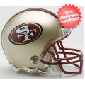 Helmets, Mini Helmets: San Francisco 49ers 1996 to 2008 Riddell Mini Replica Throwback Helmet