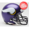 Helmets, Mini Helmets: Minnesota Vikings 2006 to 2012 Riddell Mini Replica Throwback Helmet