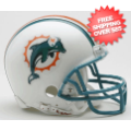 Helmets, Mini Helmets: Miami Dolphins 1997 to 2012 Riddell Mini Replica Throwback Helmet