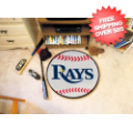 Home Accessories, Game Room: Tampa Bay Rays Baseball Floor Mat