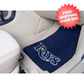 Car Accessories, Detailing: Tampa Bay Rays Car Mats 2 Piece