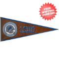 Collectibles, Pennants: Detroit Lions Pennant Leather