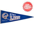 Collectibles, Pennants: Detroit Lions Pennant Wool