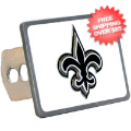 Car Accessories, Hitch Covers: New Orleans Saints Hitch Cover