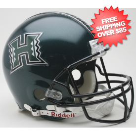 Hawaii Warriors Football Helmet