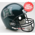 Helmets, Full Size Helmet: Hawaii Warriors Full Size Replica Football Helmet
