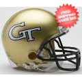 Helmets, Mini Helmets: Georgia Tech Yellow Jackets NCAA Mini Football Helmet