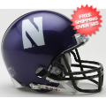 Helmets, Mini Helmets: Northwestern Wildcats NCAA Mini Football Helmet