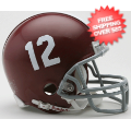 Helmets, Mini Helmets: Alabama Crimson Tide NCAA Mini Football Helmet #12