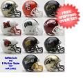 Helmets, Mini Helmets: MID American Speed Mini Football Helmet Conference Riddell NCAA Helmets