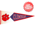 Collectibles, Pennants: Clemson Tigers NCAA Pennant Wool