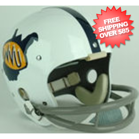 West Virginia Mountaineers 1971 to 1972 Full Size NCAA Throwback Vintage Football Helmet