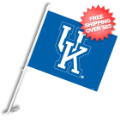 Car Accessories, Flags: Kentucky Wildcats Car Flag
